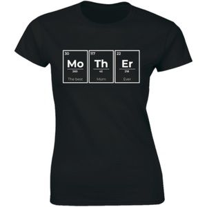 Mother The Best Mom Ever Periodic Table T-shirt